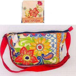 Kate Mcrostie Spring Floral Crossbody Bag Beaded